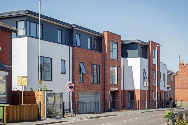 14 unit affordable housing development, Cheltenham