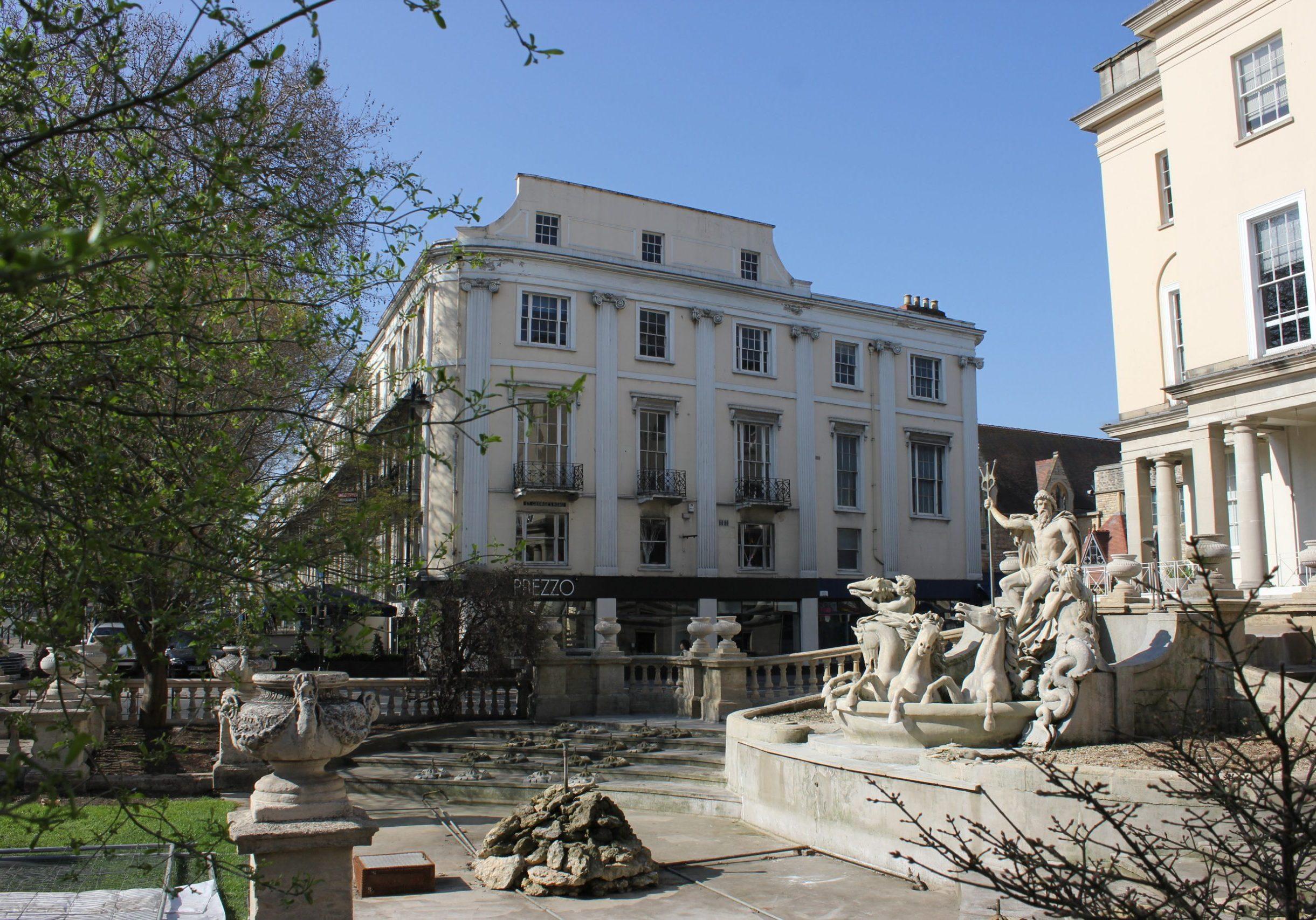 Office to resi, Cheltenham promenade