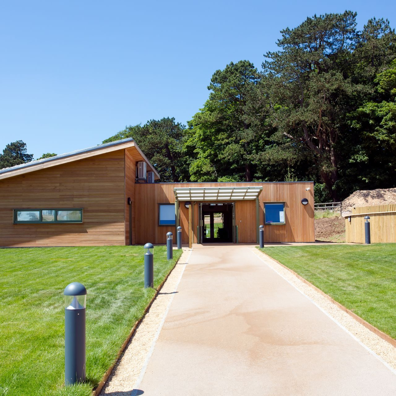 National Star College, outdoor learning centre, Cheltenham