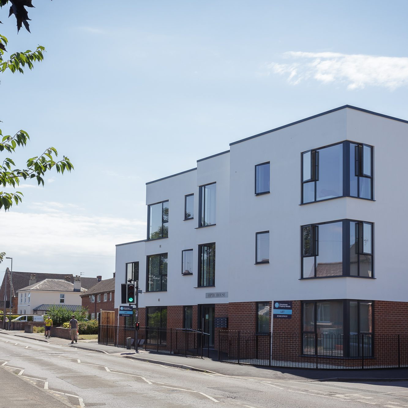A former disused pub site turned into much needed flats