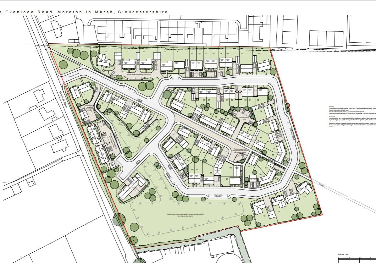 Evenlode Rd - 67 units, Gloucestershire
