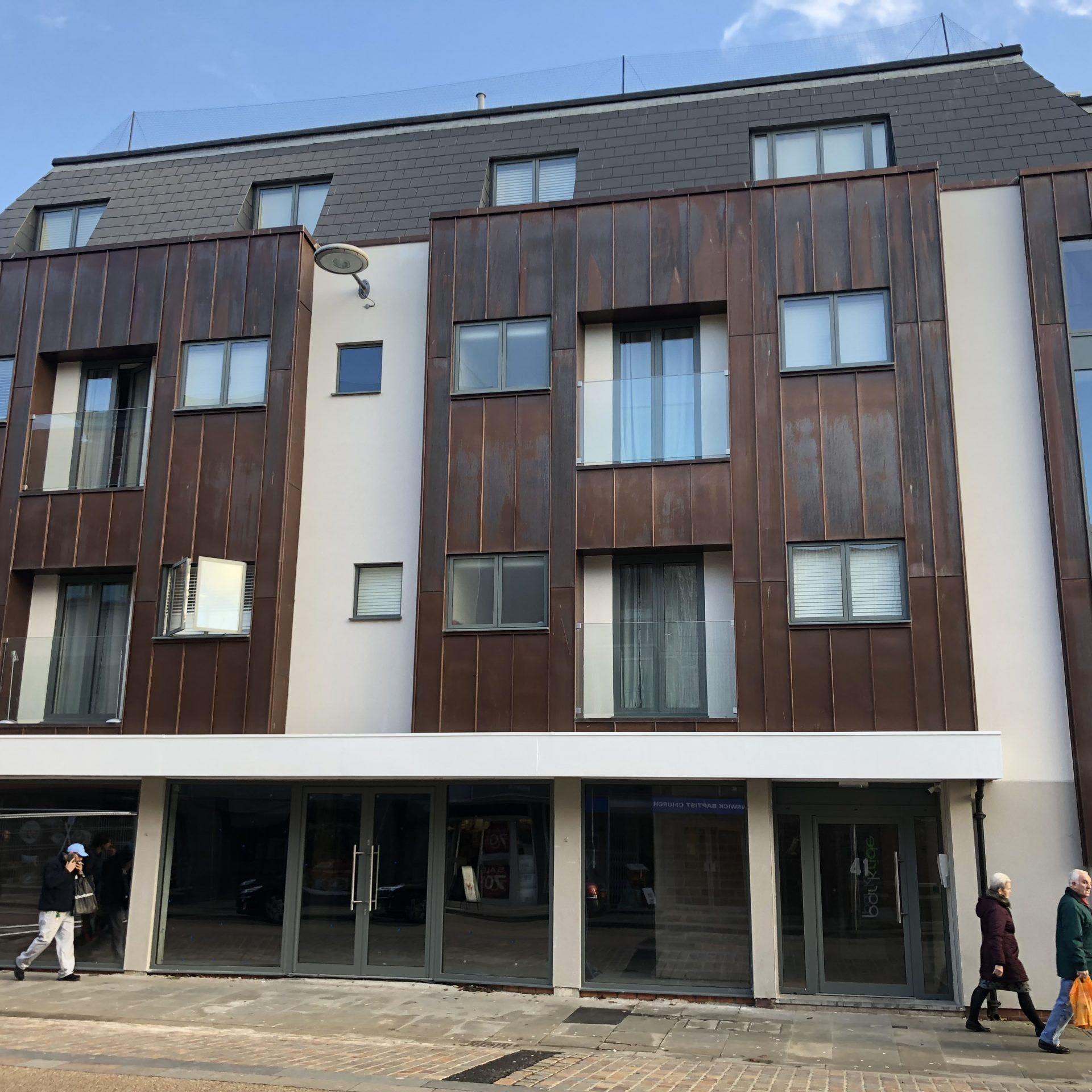 18 unit & retail space office conversion, Gloucester City Centre