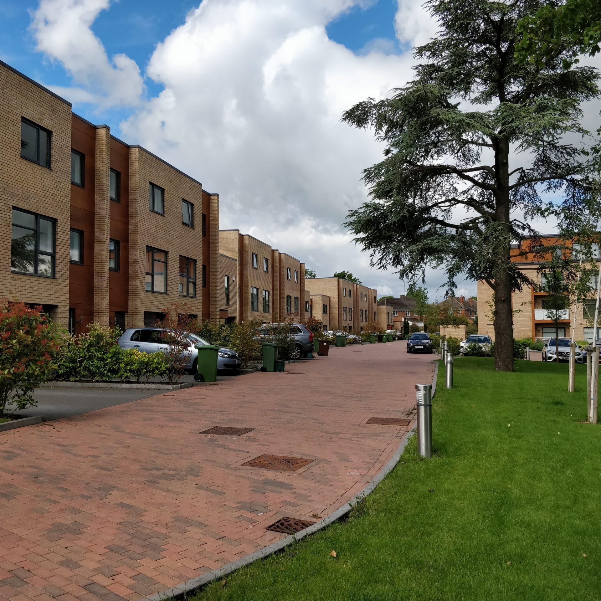 Award winning 33 home brownfield redevelopment, <br> Cheltenham