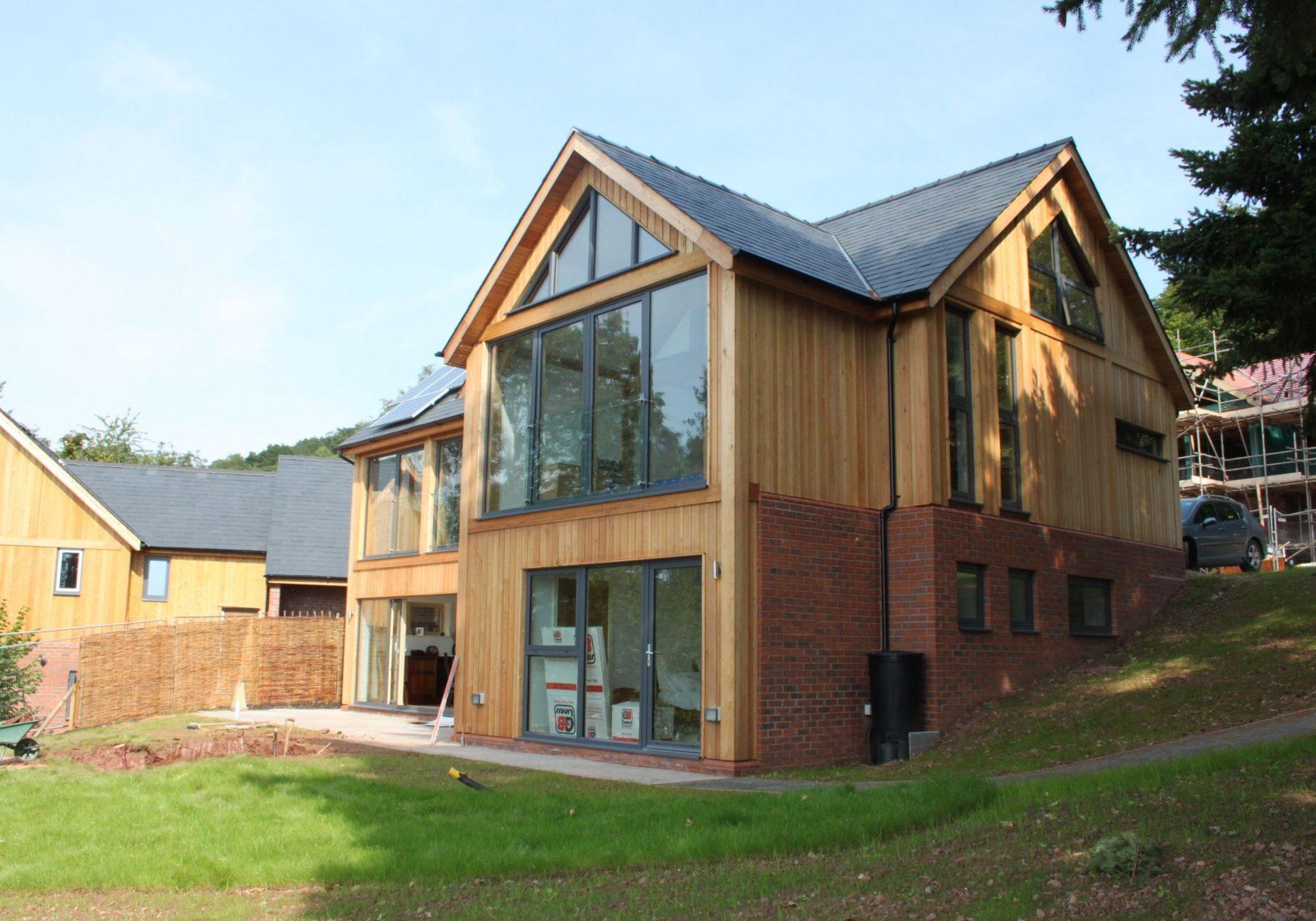 5 bespoke timber framed dwellings, Herefordshire