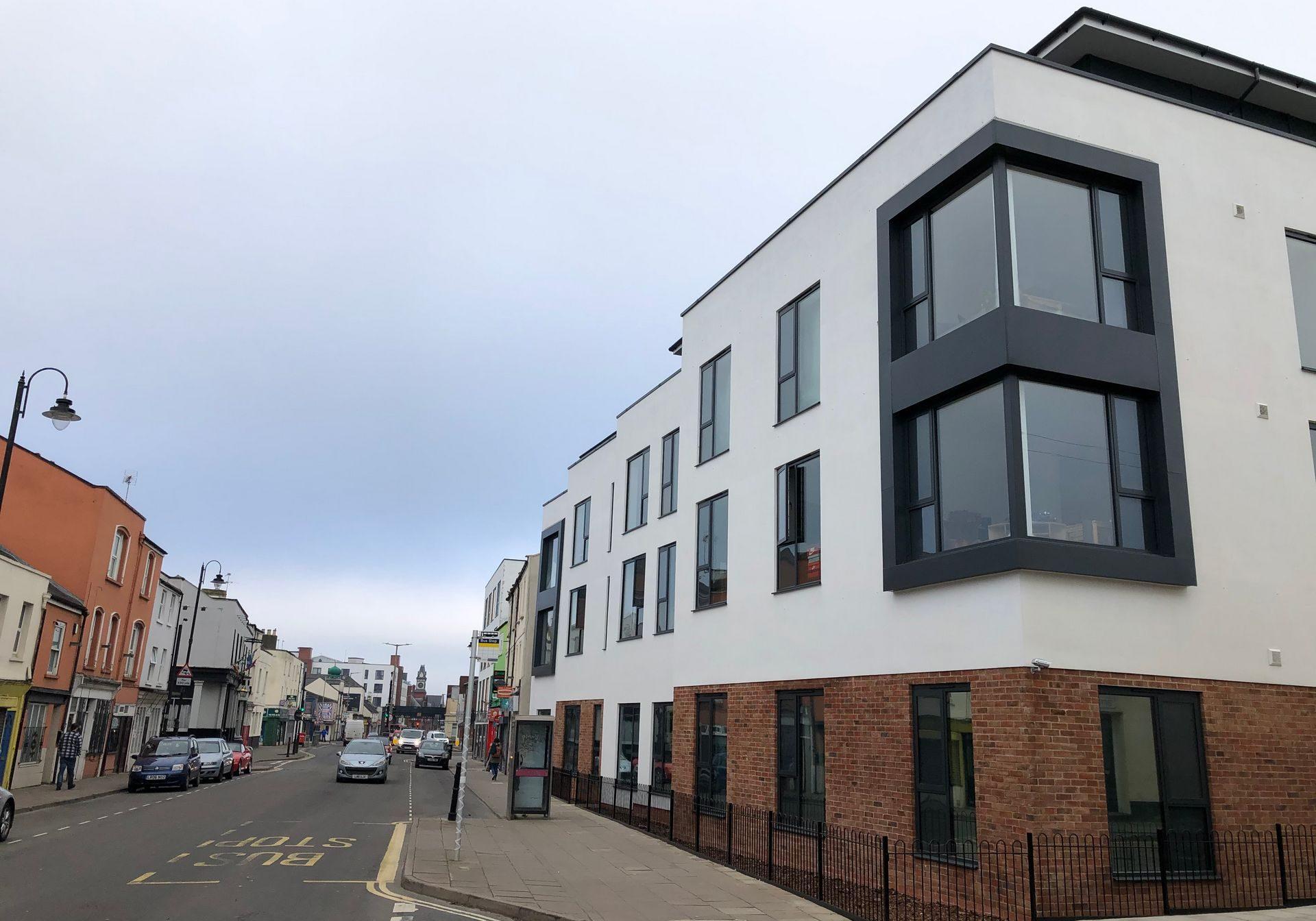 43 unit town centre development, Cheltenham