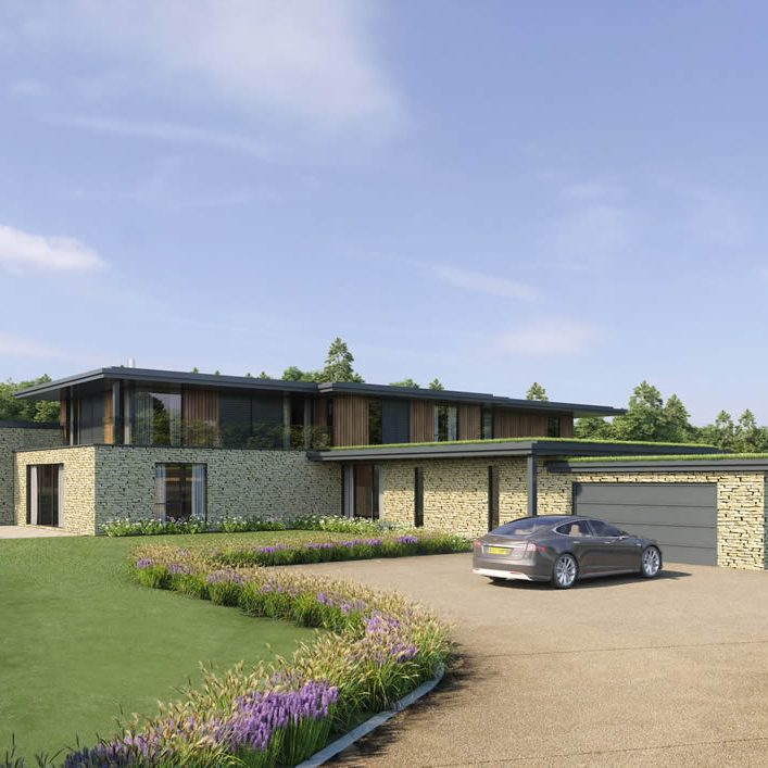 26 high end homes in Cotswold ANOB