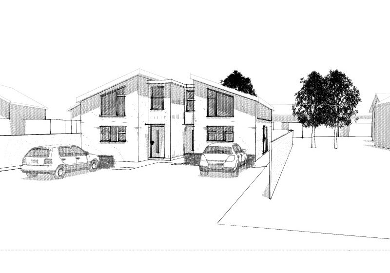 Proposed homes for Stroud District Council site
