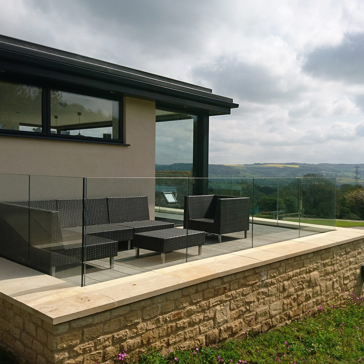 A different kind of extension<br> Cleeve Hill, Cheltenham