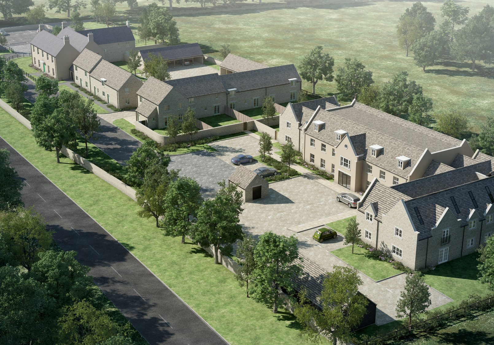 32 home regeneration and new build development, <br> Oxfordshire